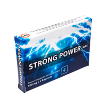 Strong Power Max potencianövelő (4db kapszula)