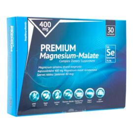 Prémium Magnézium-malát 400 mg szerves kötésű szelénnel 80 mcg - Napfényvitamin -