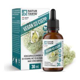 Vegán D3-vitamin - 30 ml - Natur Tanya -
