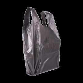 Műanyag táska nagy 45x40 (fekete) - az ár tartalmazza a termékdíjat