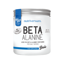 Beta-Alanine - 200 g - BASIC - Nutriversum - ízesítetlen -