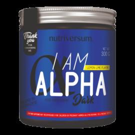 I am Alpha - 300 g - DARK - Nutriversum - citrom-lime -