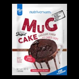 Mug Cake - 50 g - DESSERT - Nutriversum - csoki-csokidarabbal -