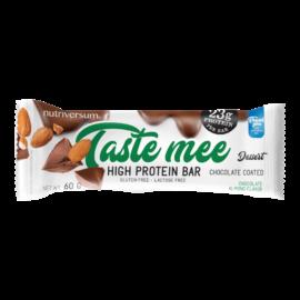 Taste Mee Protein Bar - 60 g  (csoki bevonatos) - DESSERT - Nutriversum - csokoládé-mandula - laktózmentes