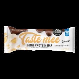 Taste Mee Protein Bar - 60 g  (csoki bevonatos) - DESSERT - Nutriversum - cookie&cream - laktózmentes