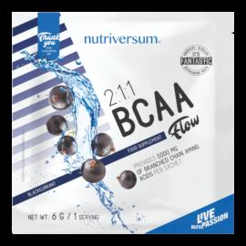 2:1:1 BCAA - 6 g - FLOW - Nutriversum - feketeribizli - esszenciális aminosav
