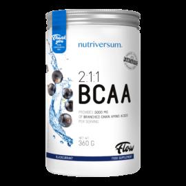 2:1:1 BCAA - 360 g - FLOW - Nutriversum - feketeribizli - esszenciális aminosav