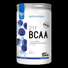 2:1:1 BCAA - 360 g - FLOW - Nutriversum - kék málna - esszenciális aminosav