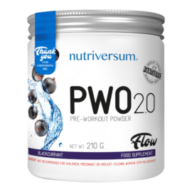 PWO 2.0 - 210g - FLOW - Nutriversum - feketeribizli