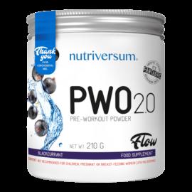 PWO 2.0 - 210g - FLOW - Nutriversum - feketeribizli - megadózisú összetétellel