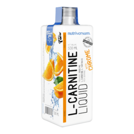 L-Carnitine 3 000 mg - 500 ml - FLOW - Nutriversum - narancs