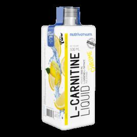 L-Carnitine 3 000 mg - 500 ml - FLOW - Nutriversum - citrom - hozzáadott króm és vitaminok