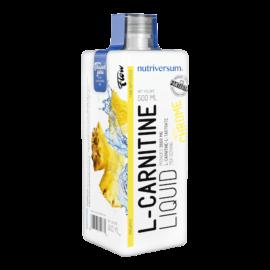 L-Carnitine 3 000 mg - 500 ml - FLOW - Nutriversum - ananász - hozzáadott króm és vitaminok