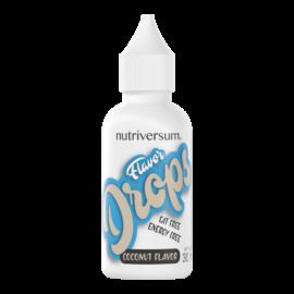 Flavor Drops - 30 ml - FOOD - Nutriversum - kókusz - kalóriamentes