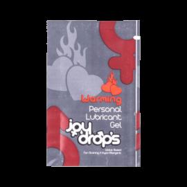 JoyDrops warming síkosító (5ml) - síkosító