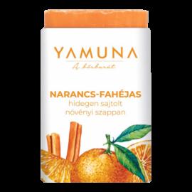 Narancs-fahéjas hidegen sajtolt szappan 110g - minőségi növényi összetevők