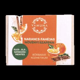 Narancs-fahéjas növényi szappan 110g - minőségi növényi összetevők