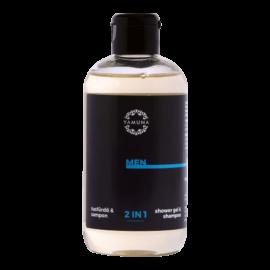 MEN 2in1 tusfürdő és sampon 250ml - SLS-mentes kozmetikum