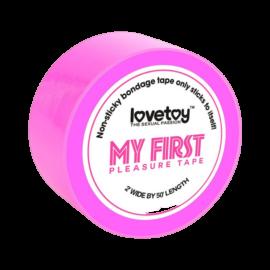 Lovetoy - My First kötöző (rózsaszín) - minőségi kötöző PVC anyagból