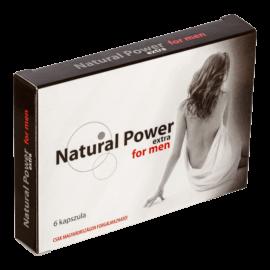 Natural Power Extra - 6db kapszula - alkalmi potencianövelő
