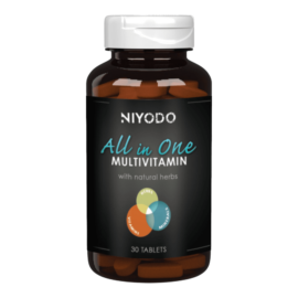 All in One multivitamin - 30 tabletta - NIYODO - napi 1 tabletta