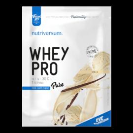 Whey PRO - 30 g - PURE - Nutriversum - vanília - 23 g prémium fehérje forrás