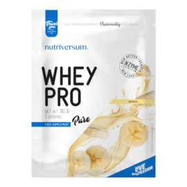 Whey PRO - 30 g - PURE - Nutriversum - banán