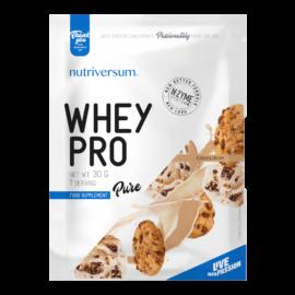 Whey PRO - 30 g - PURE - Nutriversum - cookie & cream - 23 g prémium fehérje forrás
