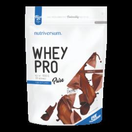 Whey PRO - 1 000 g - PURE - Nutriversum - csokoládé - 23 g prémium fehérje forrás