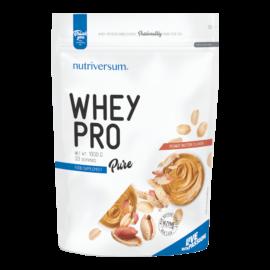 Whey PRO - 1 000 g - PURE - Nutriversum - mogyoróvaj - 23 g prémium fehérje forrás