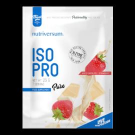ISO PRO - 25 g - PURE - Nutriversum - fehércsokoládé-eper