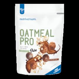 Oatmeal PRO - 600 g - PURE - Nutriversum - csokoládé-praliné - zabbal kiegészítve