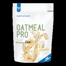 Oatmeal PRO - 600 g - PURE - Nutriversum - banán - zabbal kiegészítve