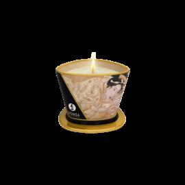 Shunga - Masszázsgyertya Vanília (170ml) - kozmetikai minőségű, természetes olajok