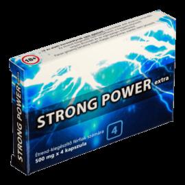 Strong Power Extra - 4db kapszula - alkalmi potencianövelő