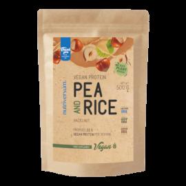 Pea & Rice Vegan Protein - 500g - VEGAN - Nutriversum - mogyoró