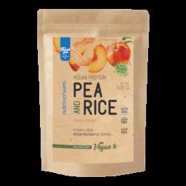 Pea & Rice Vegan Protein - 500g - VEGAN - Nutriversum - barack-joghurt