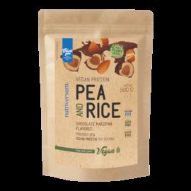 Pea & Rice Vegan Protein - 500g - VEGAN - Nutriversum - csokoládé-marcipán