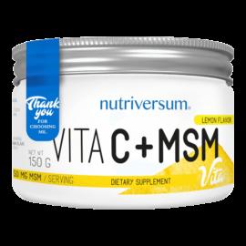 C+MSM - 150 g - VITA - Nutriversum - citrom -