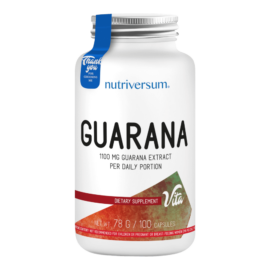 Guarana - 100 kapszula - VITA - Nutriversum -