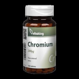 Króm pikolinát 200mcg - 100 tabletta - Vitaking -