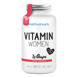 Vitamin Women - 60 tabletta - WSHAPE - Nutriversum - multivitamin és ásványi anyag komplex