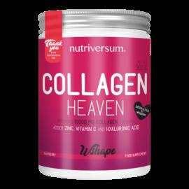 Collagen Heaven - 300 g - WSHAPE - Nutriversum - málna - 10.000mg Kollagén
