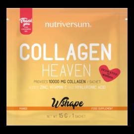 Collagen Heaven - 15 g - WSHAPE - Nutriversum - mangó - 10.000mg Kollagén