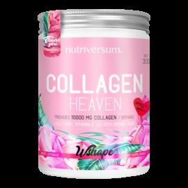 Collagen Heaven - 300 g - WSHAPE - Nutriversum - rózsa-limonádé - 10.000mg Kollagén