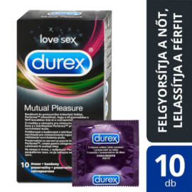 Durex Mutual Pleasure óvszer (10db) - ejakuláció-késleltetős óvszer