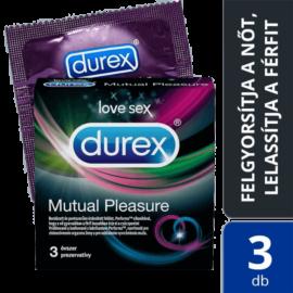 Durex Mutual Pleasure óvszer (3db) - ejakuláció-késleltetős óvszer