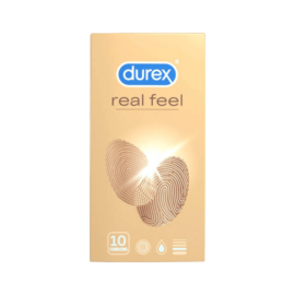 Durex RealFeel óvszer (10db) - latexmentes óvszer