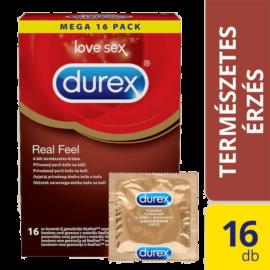 Durex RealFeel óvszer (16db) - latexmentes óvszer