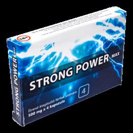 Strong Power Max - 4db kapszula - alkalmi potencianövelő